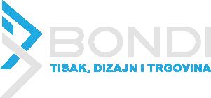 Logo - Obrt za tisak, dizajn i trgovinu BONDI